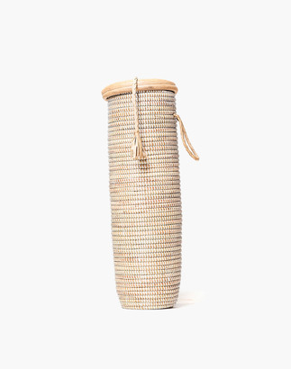 Madewell Tackussanu Senegal Jummy Basket with Leather Trim