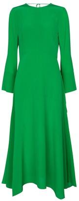 Victoria Beckham Silk midi dress