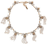 BaubleBar Fountain Glass Embellished Collar Necklace