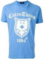 DSQUARED2 Caten Twins plaque T-shirt