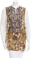 Isabel Marant Silk Floral Print Top