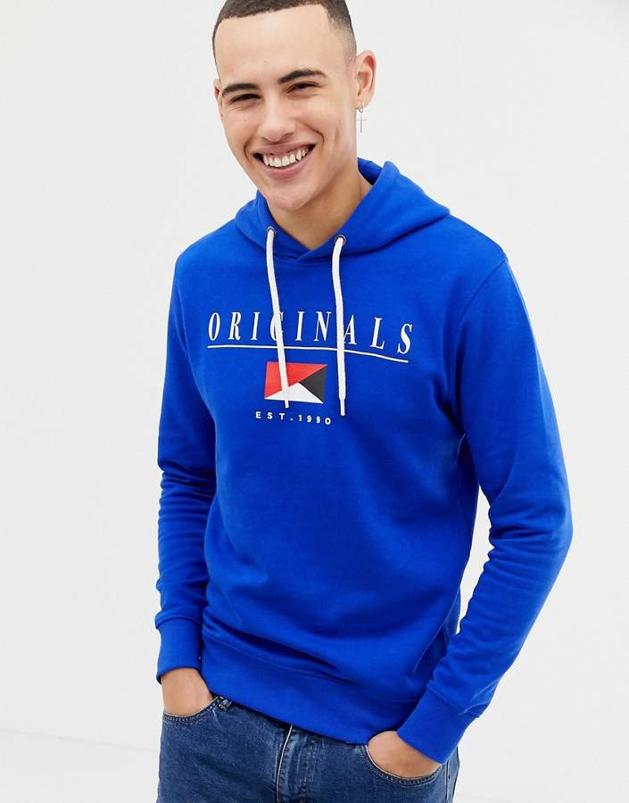 Jack and Jones Originals Hoodie With Originals Graphic