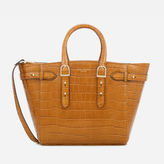 Aspinal of London Women's Marylebone Medium Tote Bag Tan