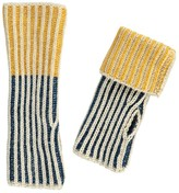 Bobo Choses Two-Tone Fingerless Gloves