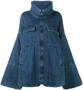 Chloé oversized denim coat
