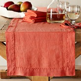 Williams-Sonoma Italian Washed Linen Table Runner