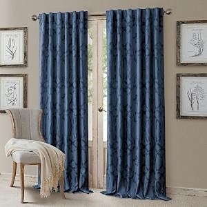 Elrene Home Fashions Darla Geometric Blackout Curtain Panel, 52 x 108