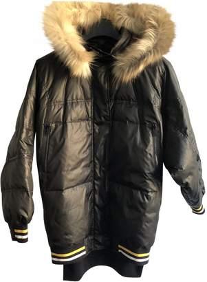 DKNY Black Coat for Women