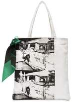 Calvin Klein x Andy Warhol Foundation Ambulance Disaster tote bag
