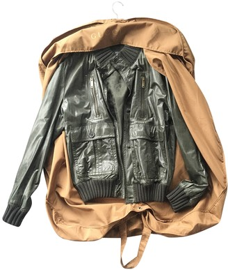 Gucci Green Leather Jackets