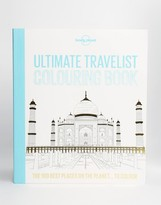 Books Lonely Planet Ultimate Travelist Colouring Book