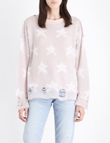 Wildfox Couture Seeing Stars knitted jumper