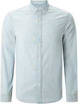 Denim & Supply Ralph Lauren Cotton Chambray Sport Shirt, Workwear Wash