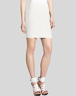 BCBGMAXAZRIA Skirt - Simone Textured Power