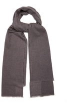 FROM THE ROAD Siva cashmere and wool-blend blanket scarf