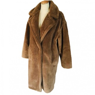 Gerard Darel Beige Faux fur Coat for Women