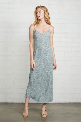 Rachel Pally Crepe Bias Dress - Forget Me Not