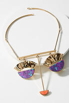Sabrina Dehoff Fluxus Statement Collar Necklace