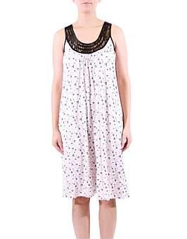Yuu Sleeveless Tea Rose Dress