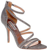 Badgley Mischka Landmak Open Toe Shoe with Wrapped Straps