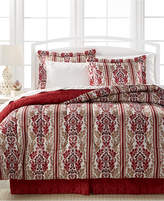 Sunham CLOSEOUT! Hamilton 8-Pc. Reversible Full Bedding Ensemble