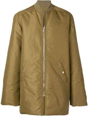 Rick Owens long sleeved padded jacket