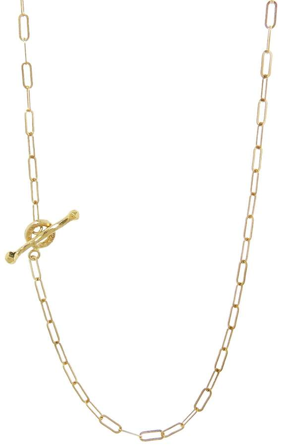 Cathy Waterman 18 Inch Spanish Chain Necklace - 22K Gold