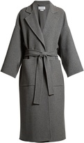 Loewe Oversized tie-waist wool and cashmere-blend coat
