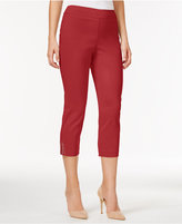 JM Collection Cropped Straight-Leg Pants, Only at Macy's
