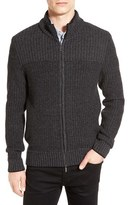 BOSS Men's 'Bertolino' Rib Knit Wool & Cashmere Sweater