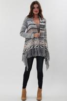 Goddis Paxton Fringe Sweater In Ashville