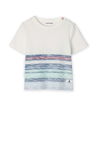 Country Road Placed Stripe T-Shirt