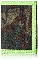 Hurley Men's Honor Roll Printed Tri Fold Wallet