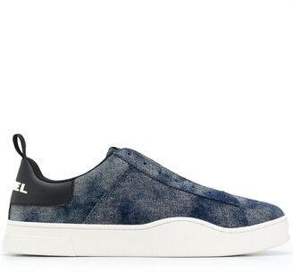 Diesel Tie-Dye Low Top Sneakers