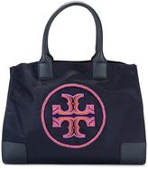 Tory Burch Ella beaded logo tote