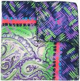Etro patterned scarf - men - Silk - One Size