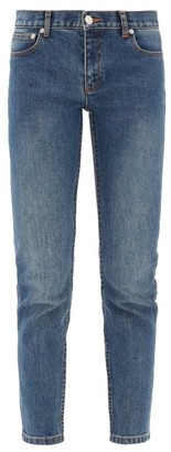 A.P.C. Etroit Court Low-rise Skinny Jeans - Denim