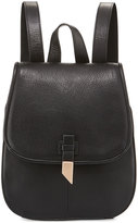 Foley + Corinna Lola Leather Flap Backpack, Black