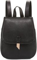 Foley + Corinna Lola Leather Flap Backpack, Black