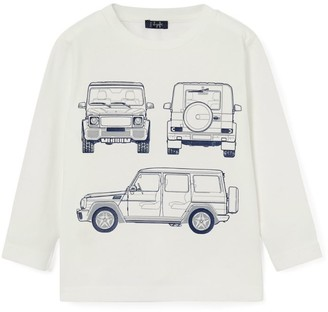 Il Gufo Sketch Long-Sleeved T-Shirt (3-12 Years)