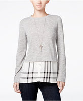 Maison Jules Layered-Look Top, Only at Macy's