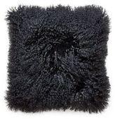 Jonathan Adler Mongolian Lamb Fur Pillow