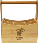 Miami Heat Bamboo Utensil Caddy
