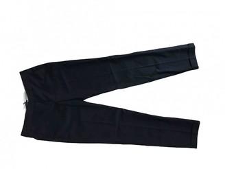 Massimo Dutti Black Cloth Trousers for Women