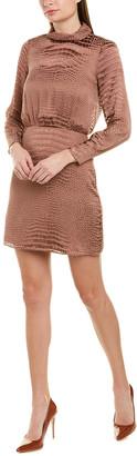 Reiss Emma Silk-Blend Dress