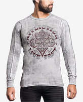 Affliction Men's Graphic-Print Thermal Shirt