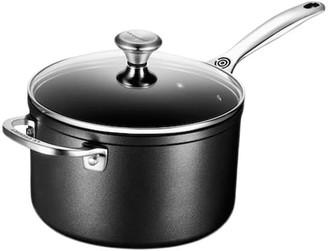 Le Creuset Toughened Non-Stick PRO 4-Qt. Saucepan with Glass Lid