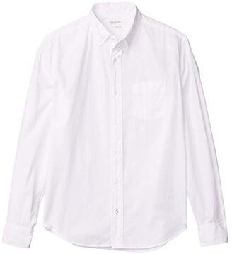 crewcuts by J.Crew Poplin Stretch Shirt (Toddler/Little Kids/Big Kids) (White) Boy's Clothing