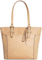 Giani Bernini Sandalwood Leather Tote, Only at Macy's