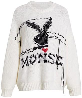 Monse Playboy x Merino Wool Knit Sweater